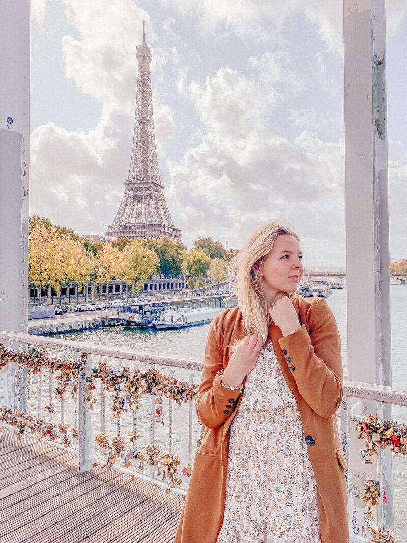 Passerelle Debilly Parijs