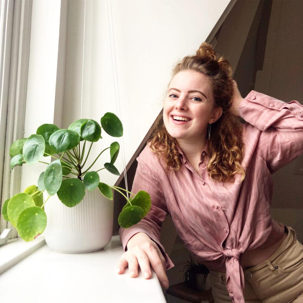 Ambitieuze Daniëlle is student met eigen bedrijf